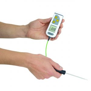 TempTest 1 Thermometer with 360° Rotating Display