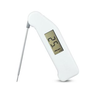 Food Thermometer White Dairy