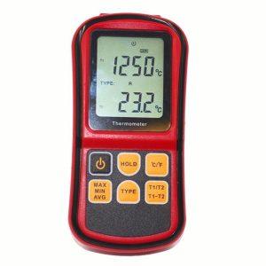 Portable Multi-Thermocouple Thermometer